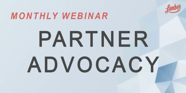 Monthly webinar Partner advocacy