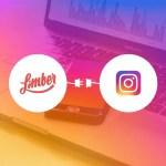 Limber se connecte et publie sur Instagram