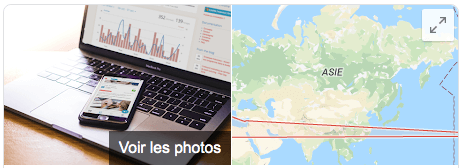 Fiche Google My Business - Section Maps - Limber