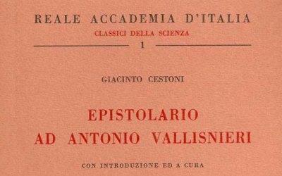 L'Epistolario Cestoni – Vallisnieri