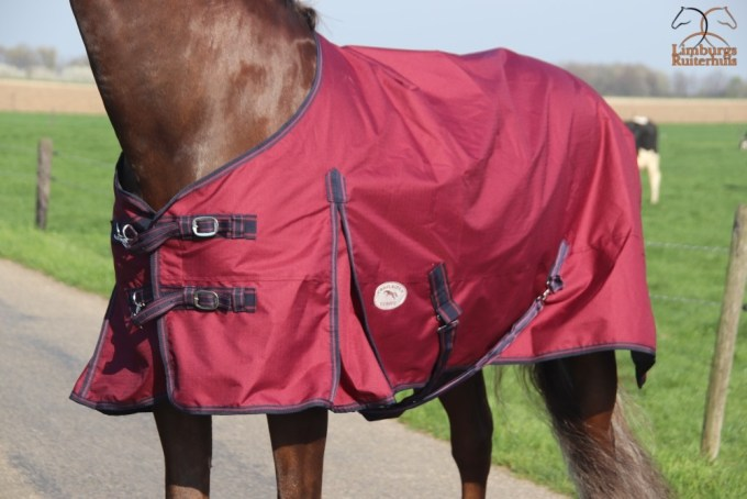 Profi-Rider Regendeken Fleece Bordeaux