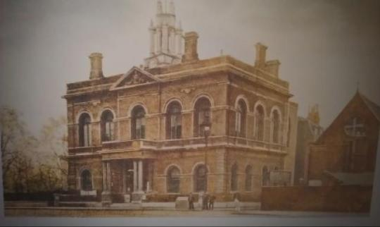 Tour of Limehouse Town Hall