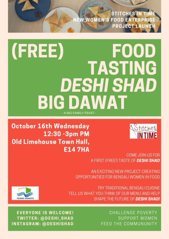 New Women's Food Enterprise - Soft Launch and Free Food Tasting.