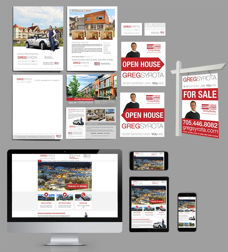 Realtor Branding And Marketing Material Package Limelight Marketing