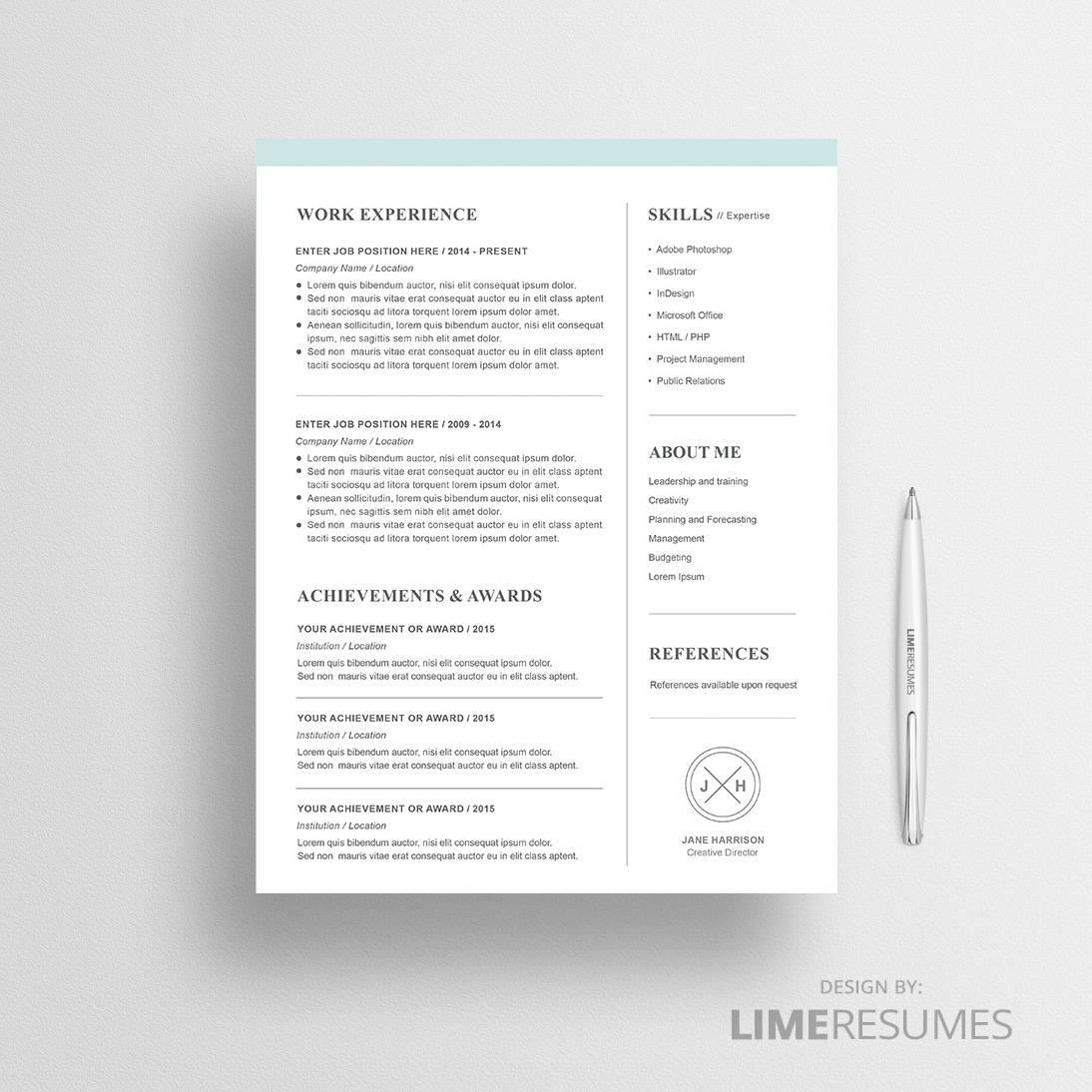 Resume Template Open Office Get Free Templates