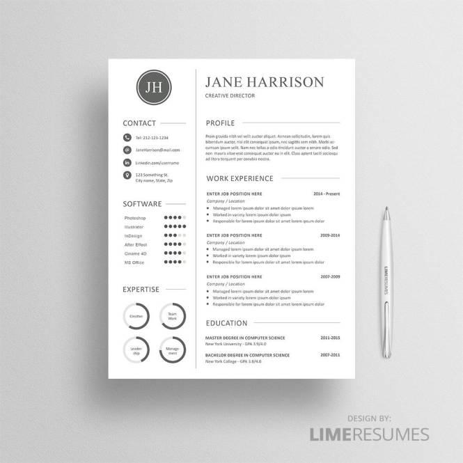 Resume Cover Letter Template Microsoft Word Frugal Entrepreneur