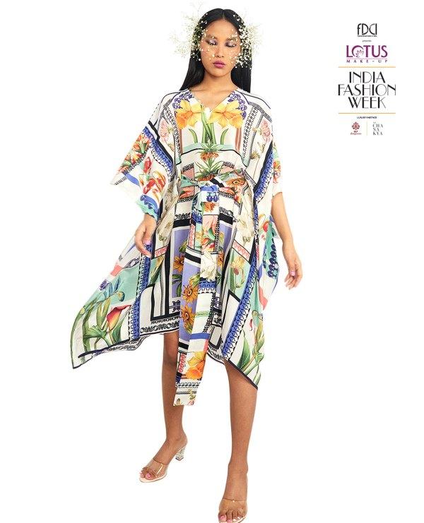Embroidered-kaftan-dress