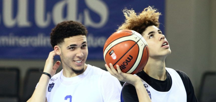 LaMelo Ball gets triple double, LiAngelo scores 44 in Vytautas win in London