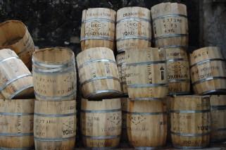 coffee-barrels