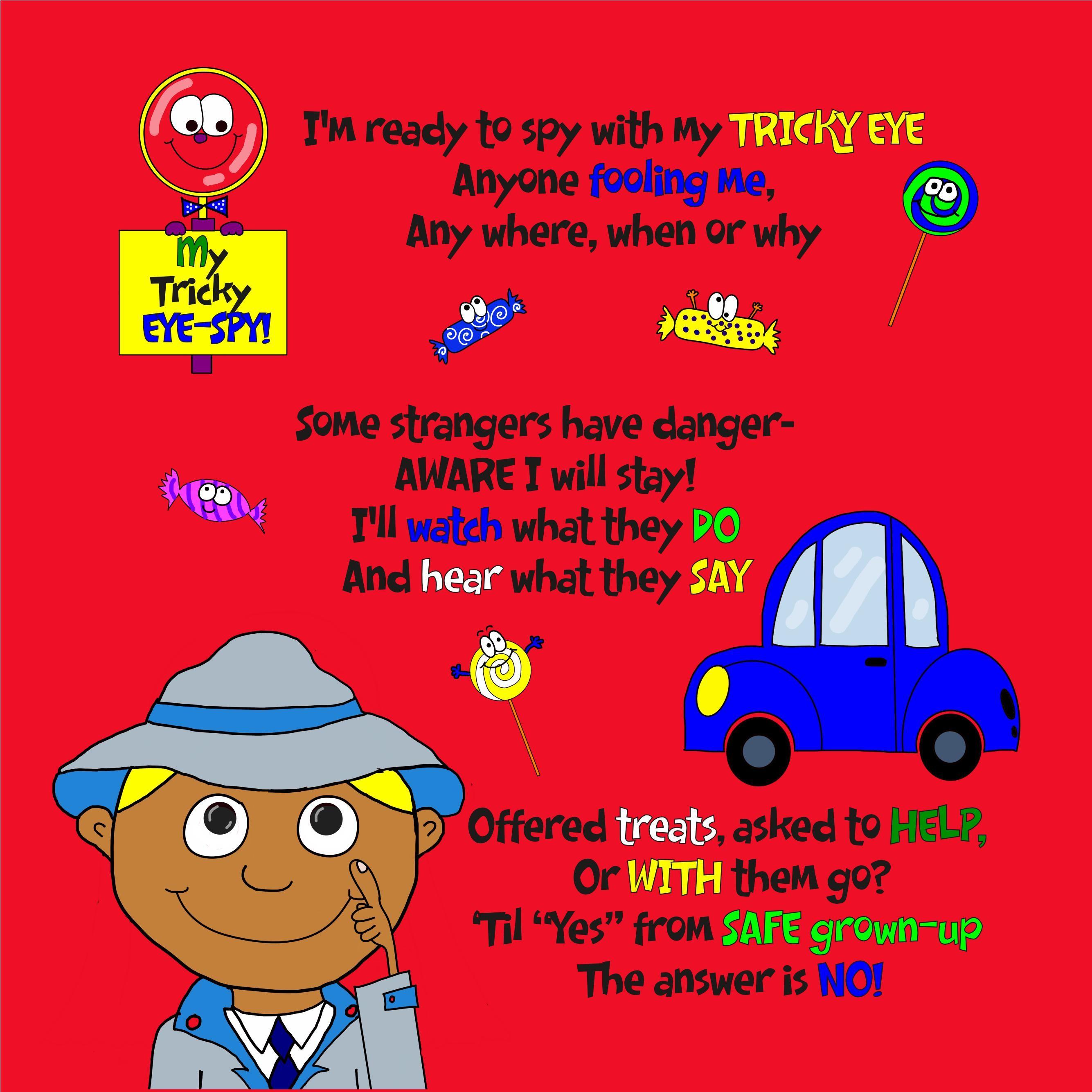 My Tricky Eye Spy The Stranger Danger Awareness Book