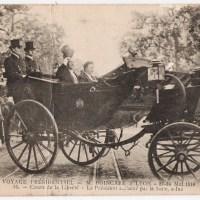 Presidential trip - Mr. Poincaré in Lyon - May 22-24, 1914