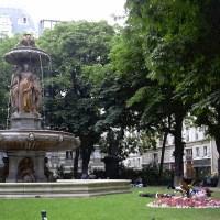 Square Louvois à Paris