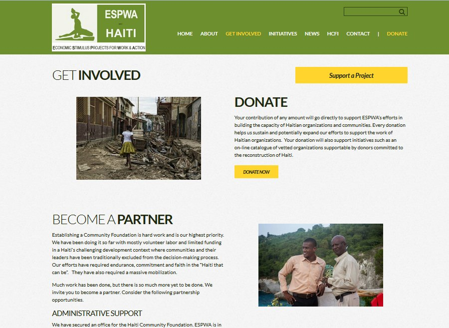Nonprofit website design by LIMIT8