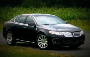 Picture of Limo CT Black Lincoln MKS