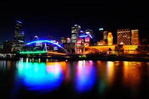 Image of Stamford city lights