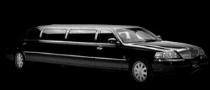 Picture of New Haven black lincoln limousine