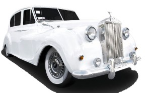 2 passenger Rolls Royce for weddings, transportation, out in the town and more photo