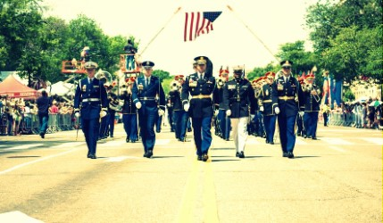 Memorial Day Parade Image