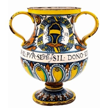 Ceremonial Water Jug Sicily, c1450