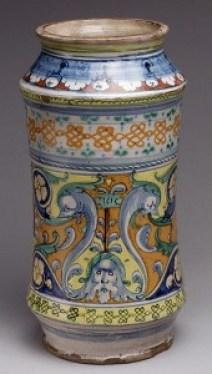 harmacy Jar, dated 1515, Siena