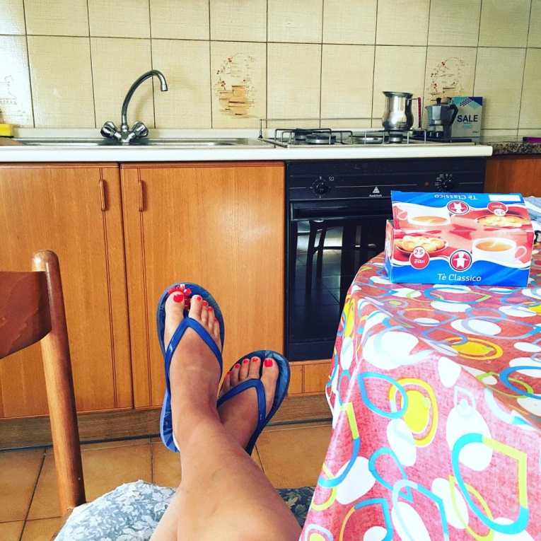 Moving to Ischia - Kitchen