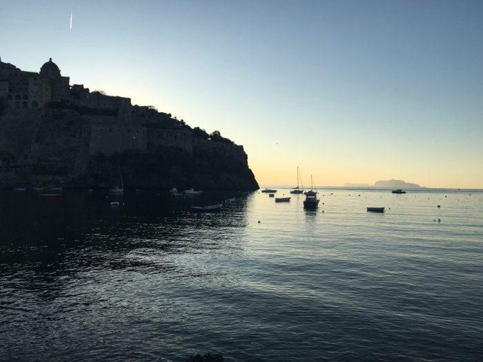 Moving to Ischia - Castello at Sunrise