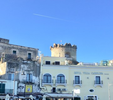 the towers of Forio