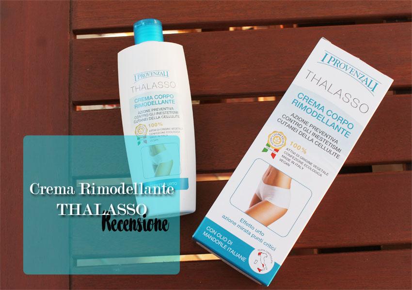 Crema corpo rimodellante, Linea Thalasso de I Provenzali - La mia opinione