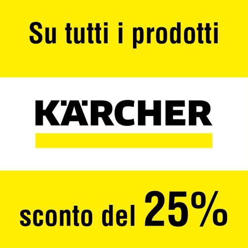 I prodotti Kärcher in promozione presso il colorificio Limonta