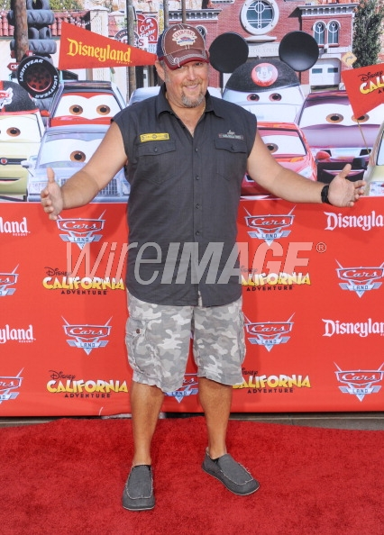 Larry The Cable Guy @ Cars Land Grand Opening