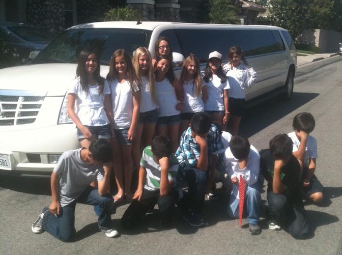 Planning a birthday for your son or daughter? Call 1-888-722-2202 for Rancho Santa Margarita / Orange County Limousine for Birthday Parties, Quinceanera and Sweet 16!