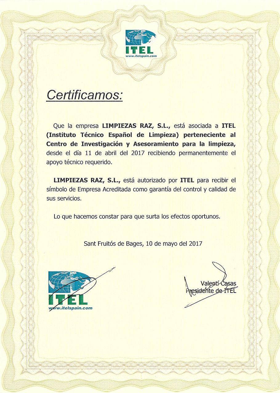 Certificado-ITEL