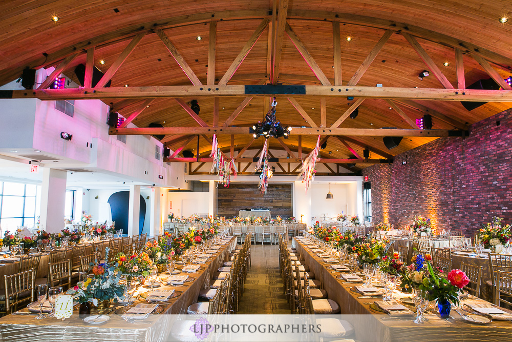 Beach Party Wedding Reception