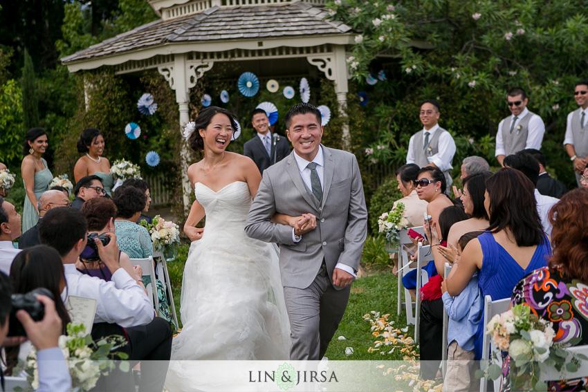 Los Angeles Arboretum Wedding In Arcadia Vay And Jen