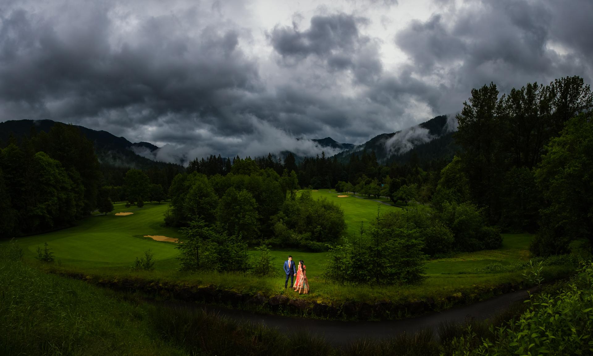 Resort At The Mountain Oregon Indian Wedding Neha Amp Nanda