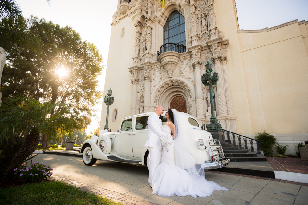 St Vincent Catholic Church Los Angeles Wedding Norma