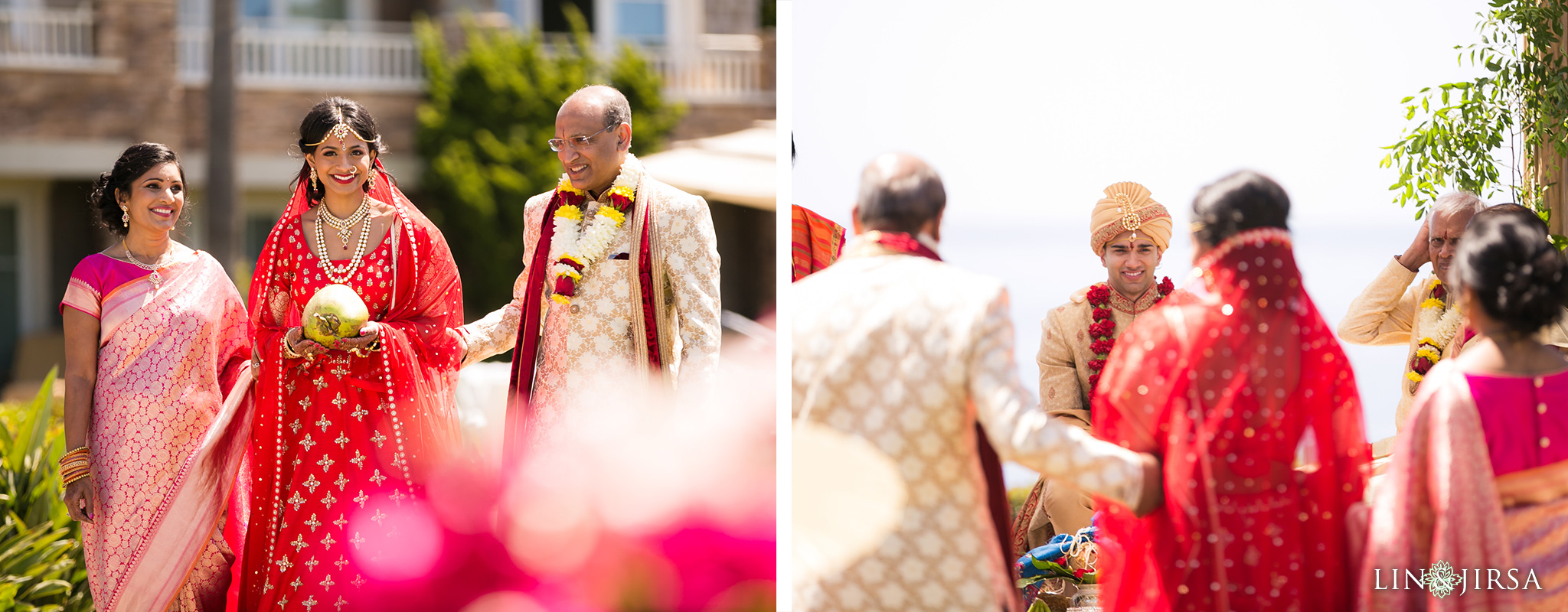 Montage Laguna Beach Indian Wedding Sravya Amp Subir
