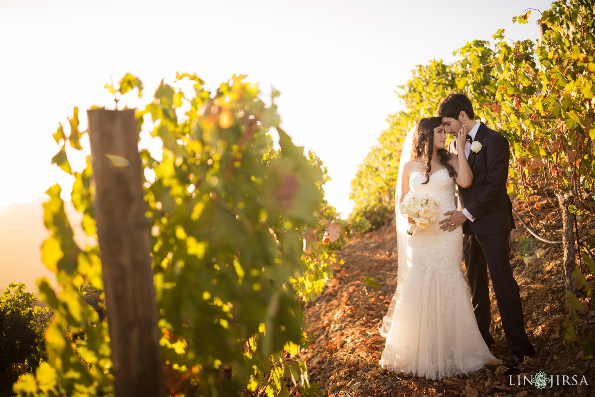 Malibu Rocky Oaks Estate Vineyard Wedding Katie Amp Jesse