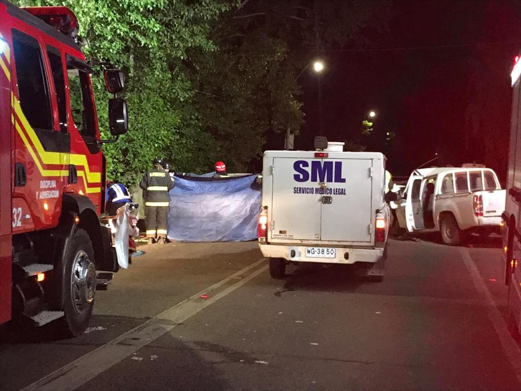 957e96bcd2 Fatal colisión frontal deja sin vida a una joven de 25 años durante ésta  madrugada en la Ruta Pehuenche