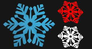 Make Your Own Snowflake Christmas Decoration [Updated 2018]