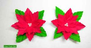 Poinsettia DIY Decorarion