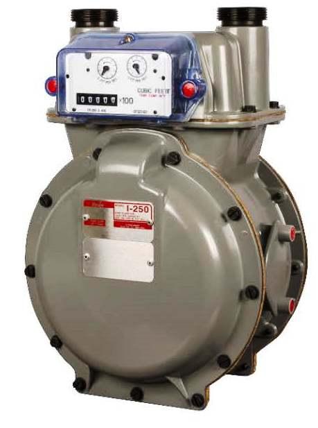 Itron I 250 Gas Meter Versus Metris Residential Meters
