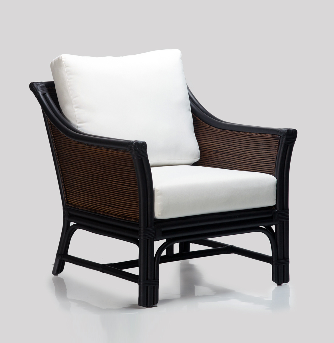 Hartford Armchair BrownWS Rattan Commercial Furniture