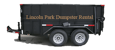 Lincoln Park Rubber Wheeled Dumpsters