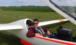 Maiden flight in new type