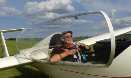 Pat's first Astir flight of the year