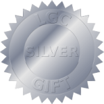 Silver gliding gift