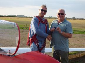 New member, new gliding convert, latest solo!