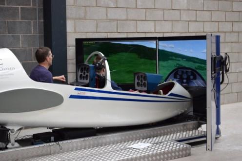 BGA simulator in use