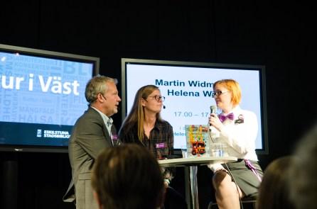 Martin Widmark och Helena Willis